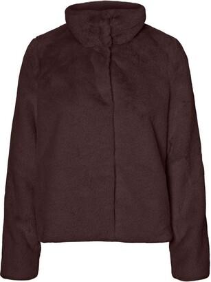 Vero Moda Women's VMTHEA Short Faux Fur Jacket COL