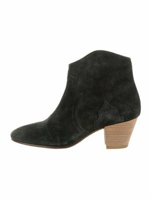 Etoile Isabel Marant Suede Boots Green