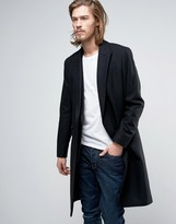 AllSaints Wool Overcoat