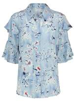 Lily & Lionel Frankie Winne Cornflowe Print Shirt