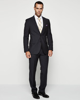 HUGO BOSS The Grand Central Pinstripe Suit, Navy