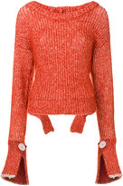 Aviu ribbed jumper