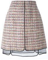 Giambattista Valli tweed skirt - women - Silk/Linen/Flax/Acrylic/Polyamide - 40
