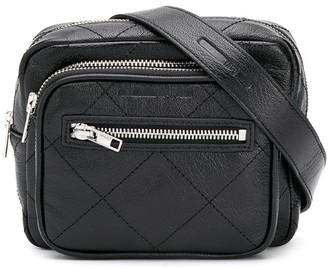 McQ Check Stitch Logo Belt Bag