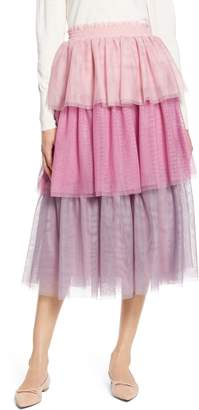 Halogen x Atlantic-Pacific Tiered Tulle Skirt