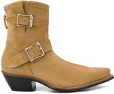 Thumbnail for your product : R 13 Ankle Engineer buckled boots