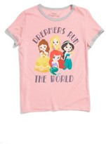 Mighty Fine Toddler Girl's Disney Princess Dreamers Tee
