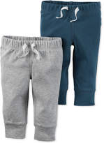 Carter's Baby Boys' 2-Pack Drawstring Pants