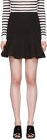 McQ by Alexander McQueen Black Peplum Miniskirt