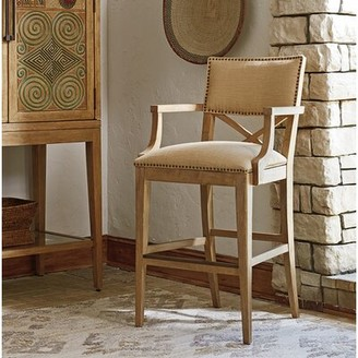 "Tommy Bahama Los Altos Bar & Counter Stool Home Seat Height: Bar Stool (30"" Seat Height)"
