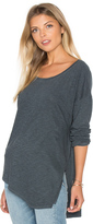 Lanston Asymmetrical Boyfriend Top