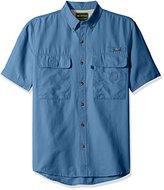 G.H. Bass Men's Explorer Charter Button Down Short Sleeve Shirt