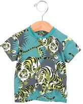 Kenzo Boys' Loin Print Short Sleeve Shirt