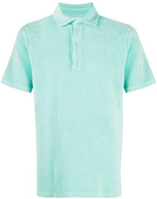 Drumohr Textured Polo Shirt