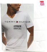 Tommy Hilfiger Classic V-Neck Tee Shirts - 4 Pack