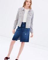 J Brand Carolina High Rise Skirt