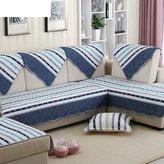 YHTYGUU British wind striped fbric sof cushions/ four sesons cotton cushion/Simple nd modern non-slip sof towel