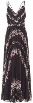Marchesa Notte Floral maxi dress