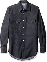 Wrangler Men's Motorcycle Denim Shirt