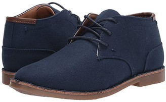 Kenneth Cole Reaction Real Deal Textile (Little Kid/Big Kid) (Navy) Boy's Shoes