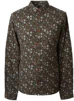 Pretty Green Slim Fit Floral Print Shirt