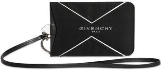 Givenchy Nylon Logo Smartphone Case W/strap
