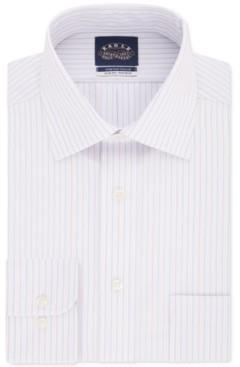Eagle Men's Slim-Fit Tek Stripe Dress Shirt