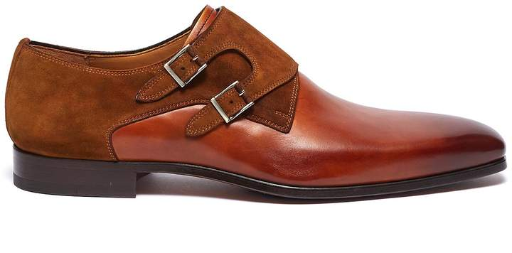 19c950660903 Magnanni Monk Strap Shoes