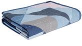 ALBUM Stripe vintage denim patchwork quilt