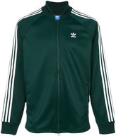 adidas tri-stripe track jacket - men - Cotton/Polyester - S