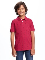 Old Navy Uniform Pique Polo for Boys
