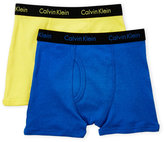Calvin Klein Boys 4-7) Two-Pack Boxer Briefs