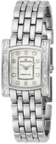Anne Klein Women's 109089MPSV Silver-Tone Diamond Watch