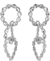 Sonia Rykiel Crystal-embellished earrings