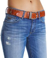 Odd Molly Light Brown Leather Horseback Belt