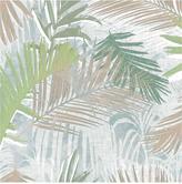 Boutique Jungle Glam White/gold/green Wallpaper