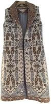 Tory Burch Jacquard sleeveless coat