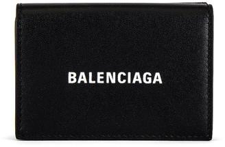 Balenciaga Mini Wallet in Black & White | FWRD