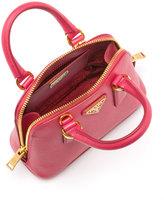 Prada Mini Saffiano Promenade Bag, Pink (Peonia)