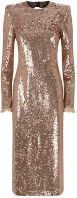 Philosophy di Lorenzo Serafini Open-Back Sequin Dress