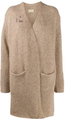 Zadig & Voltaire Zadig&Voltaire wrap-style knit cardigan