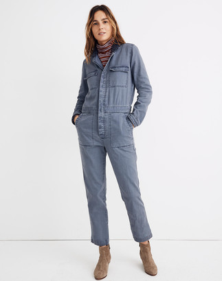 Madewell Sherpa Coverall Jumpsuit