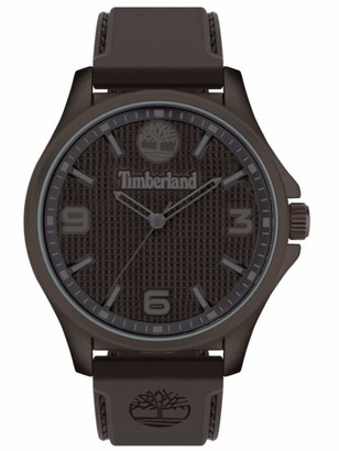 Timberland Men's Analogue Quartz Watch with Silicone Strap TBL15947JYBN.12P