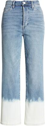 Blank NYC Baxter Rib Cage Bleach Hem Crop Jeans