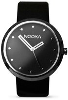 Nooka 360 Silver Adult Luxury Watches - Black - 21mm