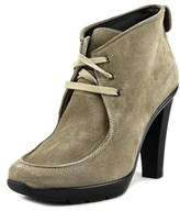 Voile Blanche Evel In Velour Round Toe Suede Bootie.