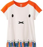 Uniqlo Girls Miffy Graphic Tee