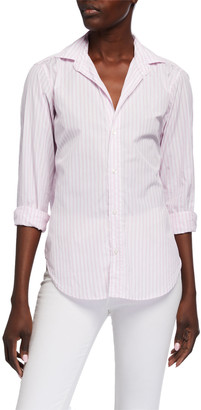 Frank And Eileen Eileen Striped Long-Sleeve Button-Down Shirt