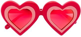 Yazbukey Heart Tinted Sunglasses