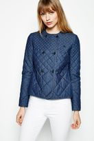 Jack Wills Easington Denim Quilted Jacket